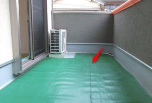 外壁塗装の際の養生シート