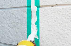 外壁塗装ひび割れ補修