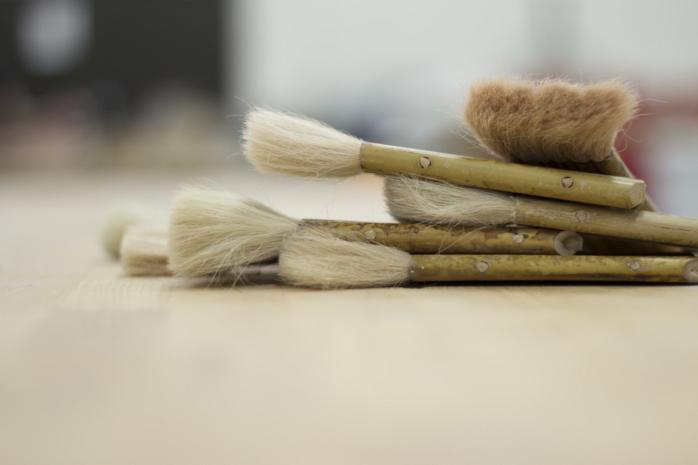 刷毛による塗装の特徴